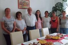 Papp Sándorné, házigondozó Nyugdíjas búcsúztatója
